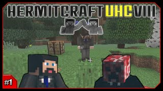 Minecraft Hermitcraft UHC VIII || Bring A Friend! || Team XBGB! [Episode 1]