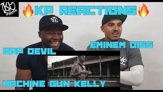 "Machine Gun Kelly ""Rap Devil"" (Eminem Diss) - Official Music Video) |Reaction"