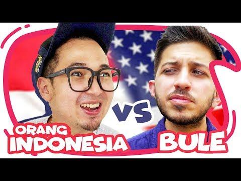BULE Vs Indonesia Wkwkwkwk