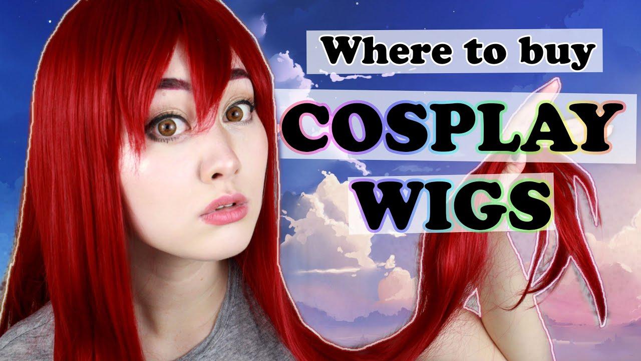 Where To Buy Cosplay Wigs Cosplay Basics Youtube