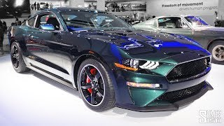 Mustang Bullitt and AMG CLS 53 are the Cars of NAIAS! | FIRST LOOK