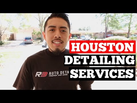 Car Detailing Services In Houston- (281) 450-3147- We Come To You!