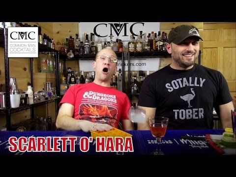 The Scarlet o' Hara Cocktail