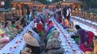 JK CM Mehbooba Mufti hosts Iftar for orphan girls