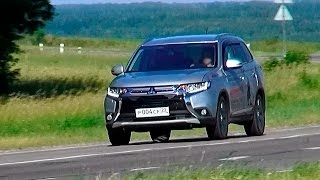 Mitsubishi Оutlander 2015 - ТЕСТ-ДРАЙВ Александра Михельсона