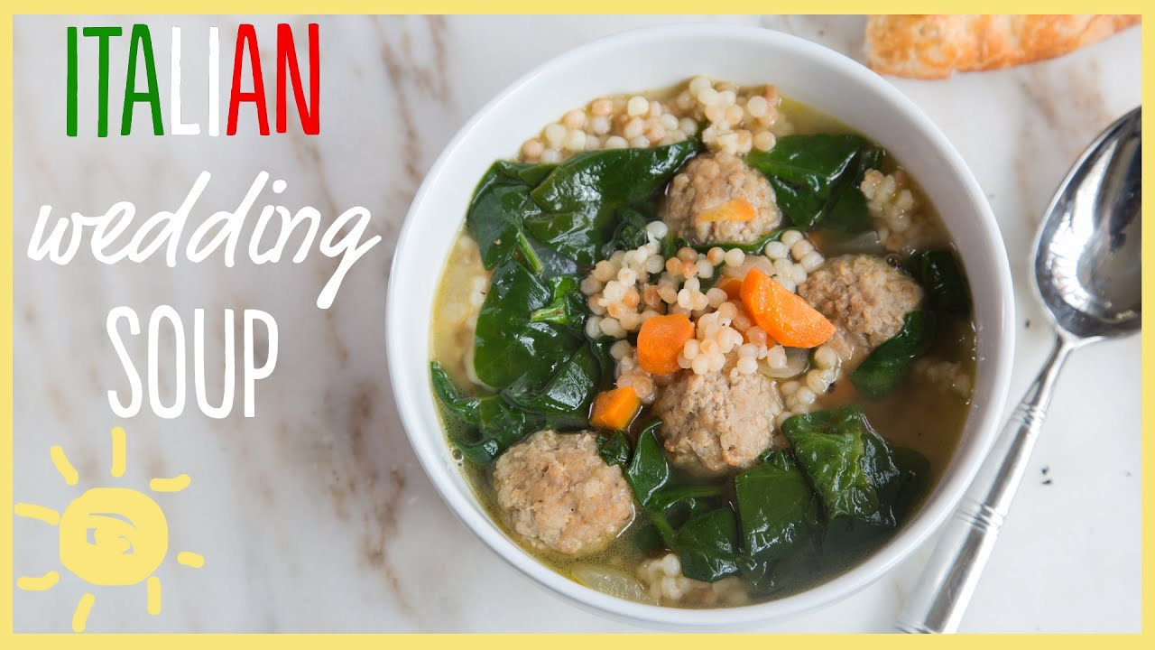 eat italian wedding soup semi homemade dinner youtube