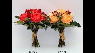 Букеты из силиконовых цветов. Купить силиконовые цветы. Силиконовые цветы оптом.(, 2015-11-16T14:11:08.000Z)
