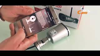 Foscam Fi9900 beveiligingscamera productvideo met accessoires