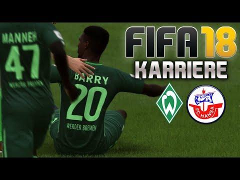 FIFA 18 KARRIERE ⚽ S01E27 • SV Werder Bremen II Vs. Hansa Rostock • LET'S PLAY