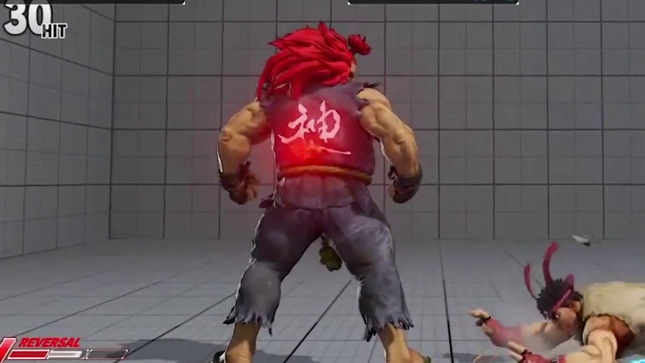 Sfv Akuma Raging Demon Setups And Gimmicks Youtube