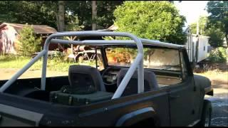 Jeepster Commando Build Part 1