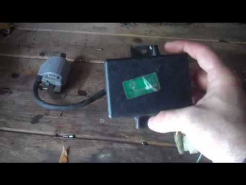 How to test motorcycle CDI box, ignition coil  YouTube