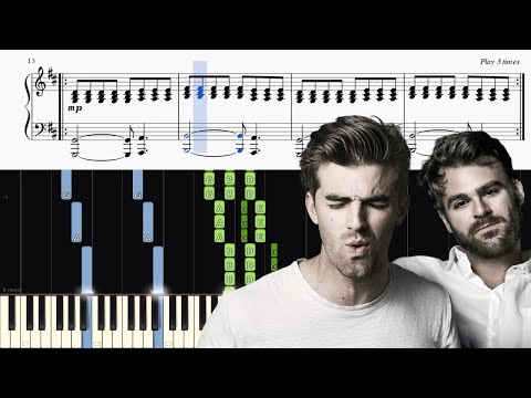 The Chainsmokers & Coldplay - Something Just Like This - Piano Tutorial + SHEETS