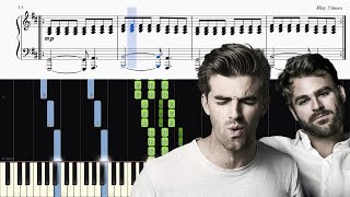 The Chainsmokers Coldplay Something Just Like This - Piano Tutorial SHEETS.mp3