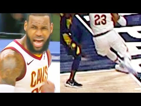 LeBron James CHOKES By Stepping Out of Bounds vs Pacers! Cavaliers vs Pacers
