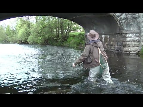 Fly Fishing, River Liffey, Clane, Co - Kildare