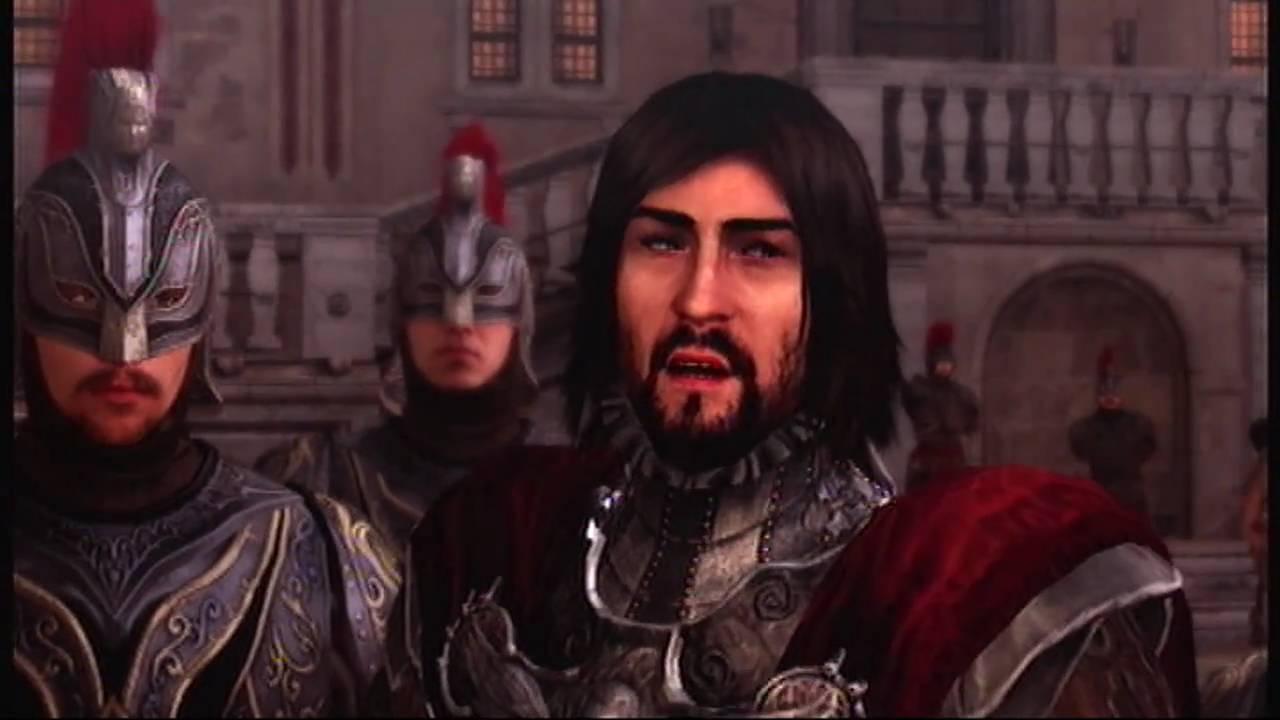 Assassin S Creed Brotherhood Weakening Cesare Borgia Youtube