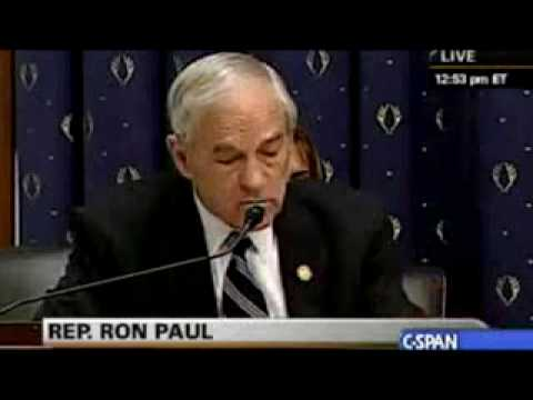 Ron Paul Questions Tim Geithner 03-26-09