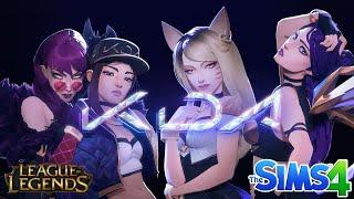 Erstellen Sie einen Sim - | K/, DA League of Legends | Ahri/Akali/Evelynn/Kai ' Sa | Sims 4 CAS-Geschwindigkeit