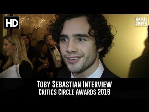 Toby Sebastian - Critics Circle Awards 2016