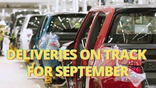 Rivian R1T Deliveries On Track For September