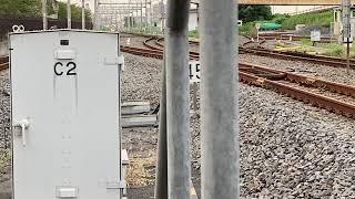 EF81 141+E231系0番台千ケヨMU43編成 AT出場配給 吉川美南駅通過