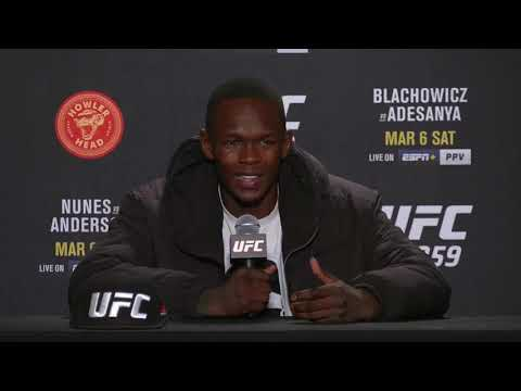 UFC 259: Israel Adesanya Post-fight Press Conference