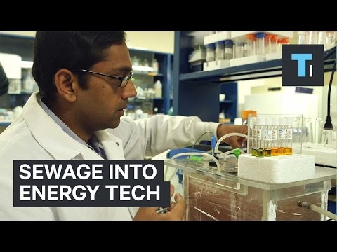 Sewage into energy tech