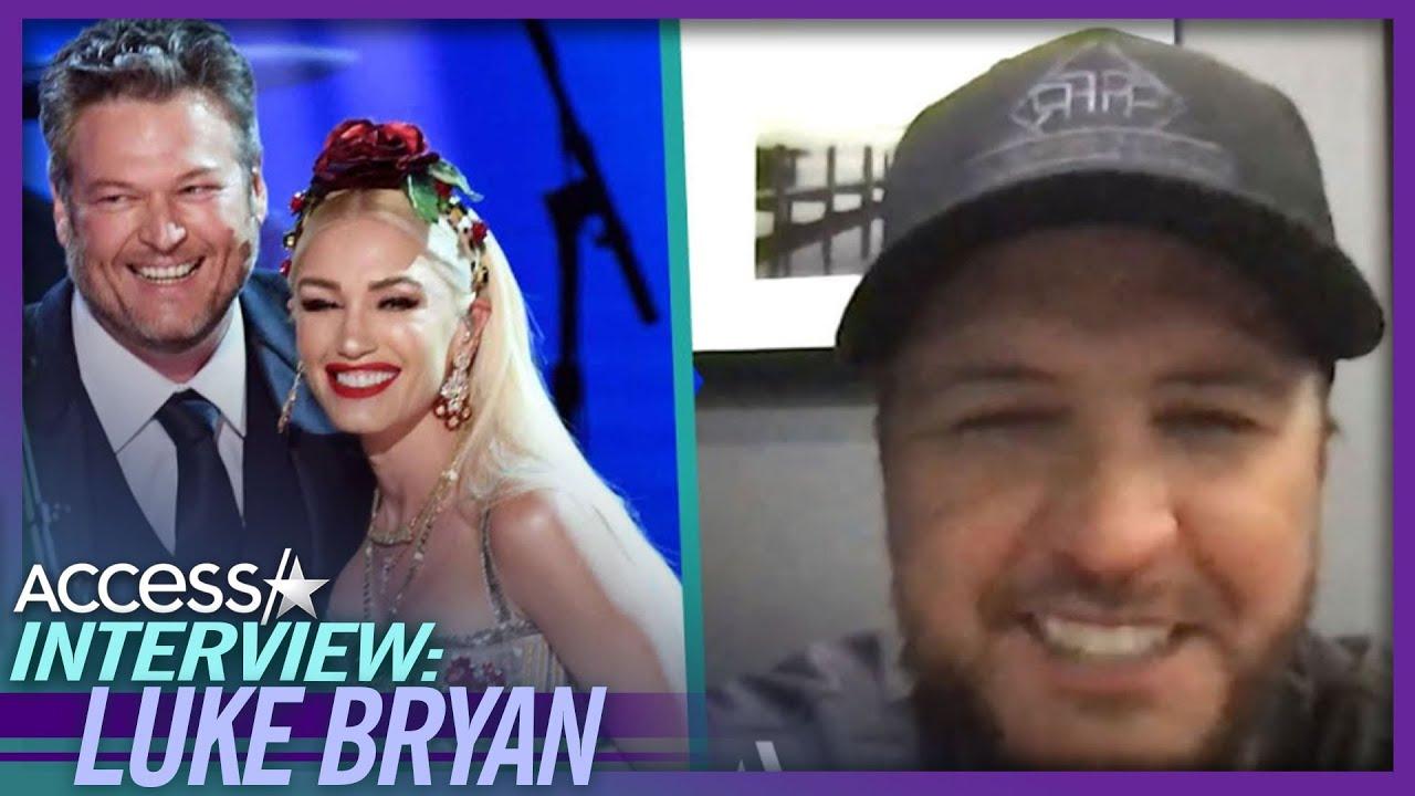Luke Bryan Calls Blake Shelton & Gwen Stefanie's Marriage A 'Special Thing'