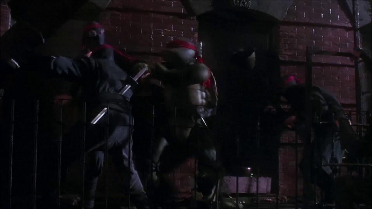 Teenage Mutant Ninja Turtles 1990 Turtles Vs Foot Clan Youtube