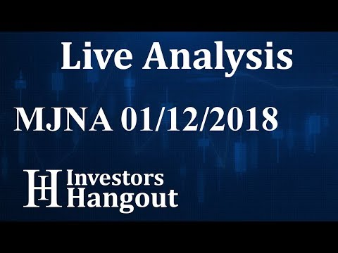 MJNA Stock Live Analysis 01-12-2018