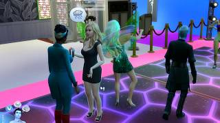 Age Up Birthday Dance Club Party  ! Fairy Family SIMS 4 Game Let's Play  Video Part 49