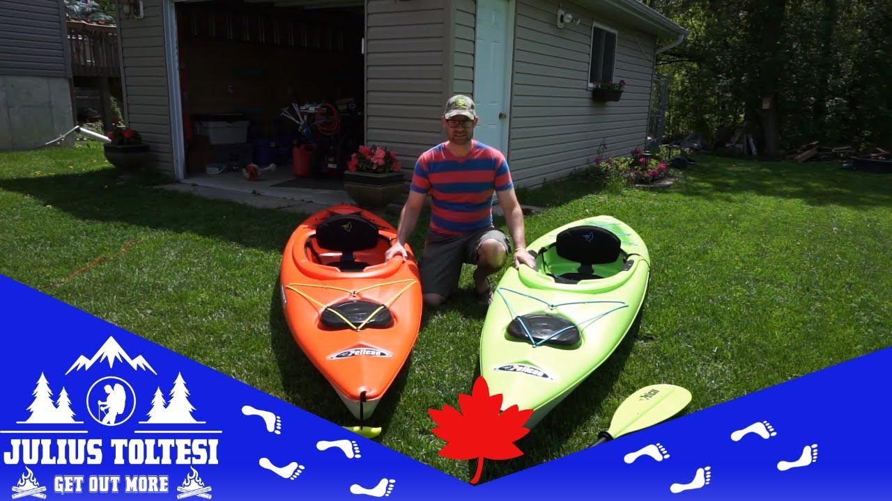 Pelican Vanquish 120X and the Pelican Maverick 120X kayaks comparison review