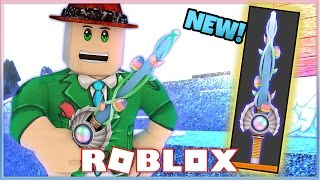 NUOVO COLTELLO ESOTICO IN ASSASSIN! LA SPRING SABER! (ROBLOX)