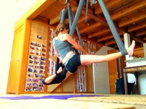 Beginner Level Aerial Yoga Play Training