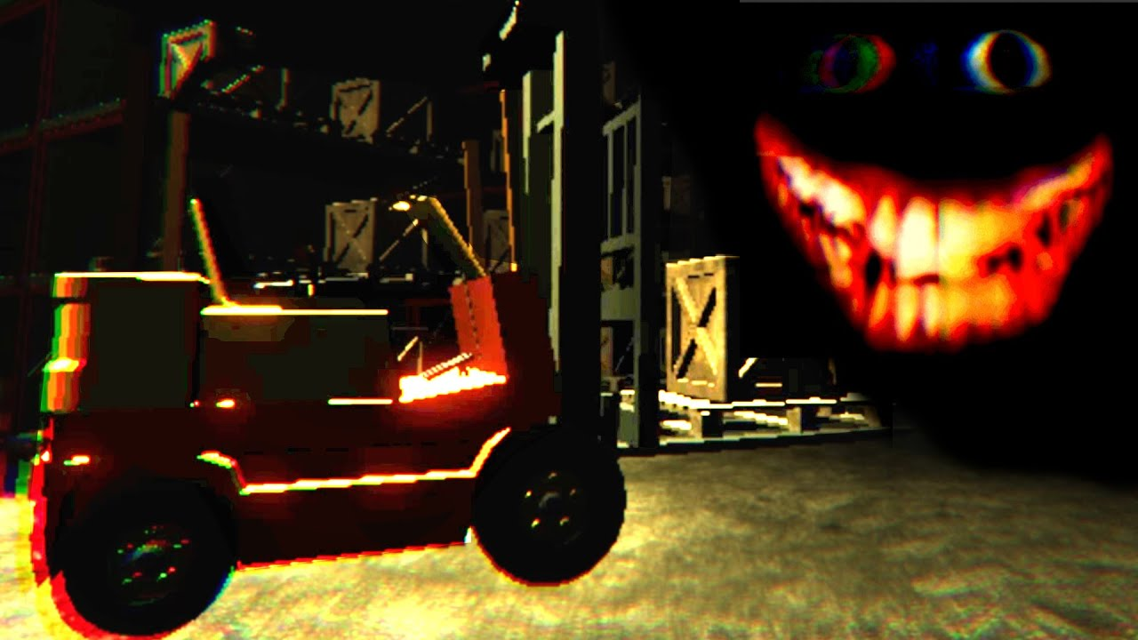 A Normal Night As A Forklift Driver In A Horror Game - FEAR LIFT / FOOD FOR PIGS 2