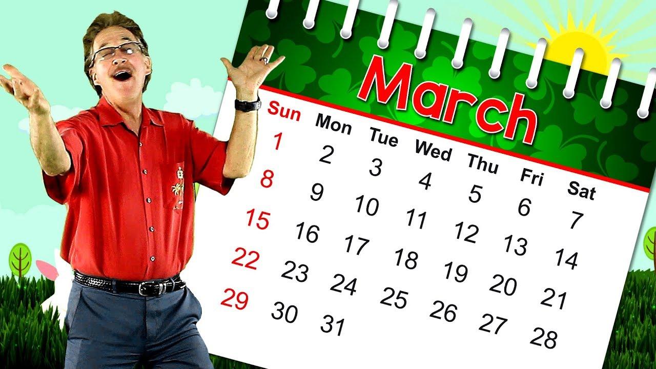 march month calendar song hartmann jack
