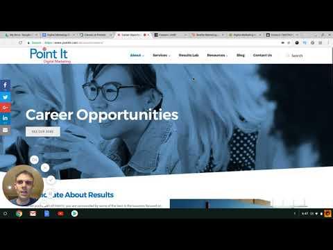 Digital Marketing Career Walkthrough 10 27
