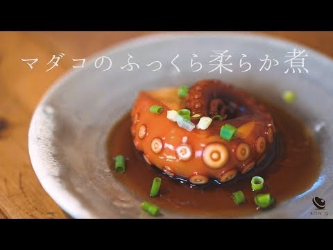 soft-and-moist-stewed-octopus-sous-vide---japanese-cooking