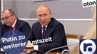 Putin zu weiterer Amtszeit auf deutsch