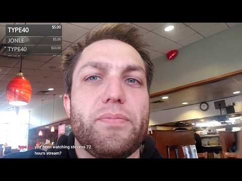 Dennys Downtown Los Angeles with surprise guest Patricia - TTS 3$ and Media $5 stream