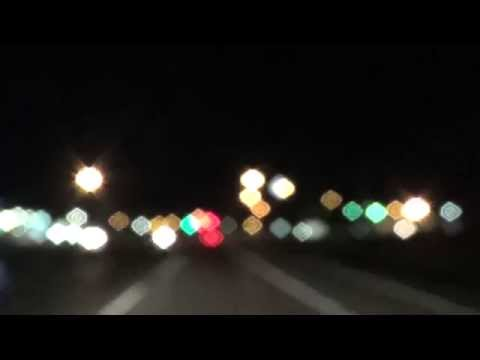 Creative Commons Public Domain - Car Floating Lights out of focus
