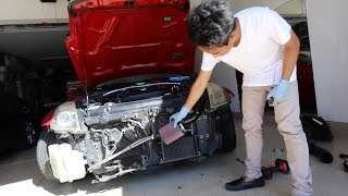 Cold Air Intake Install - Nissan 350z