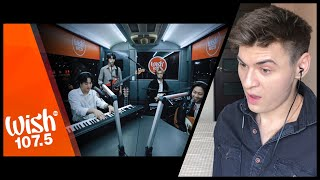 "First Time REACTION to The Rose performs ""Sorry"" LIVE on Wish 107.5 Bus 