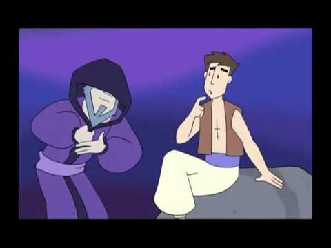 Аладдин  Обучающий мультфильм для детей на английском языке