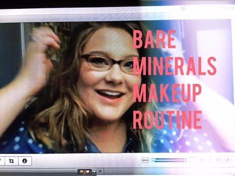 Mineral Makeup Routine: BareMinerals