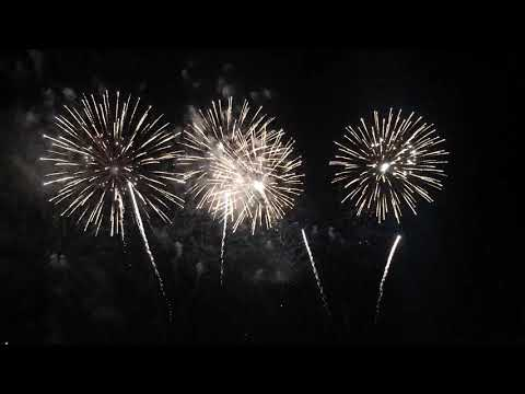 Perth Crown Casino Firework for New Year 2018-2019