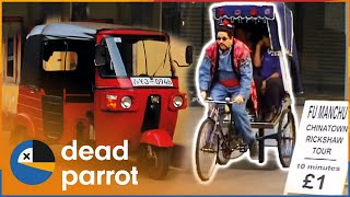 £1 Rickshaw Ride - Trigger Happy TV
