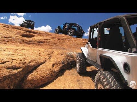 Moab Rock Crawling: A Moab Jeep Adventure