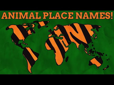 10 Countries Named After Animals